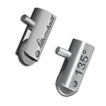 Металлические держатели в комплекте с осью и роликом  (1)