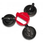 Вакуумный захват «VERIBOR», с тремя гибко сочлененными пластмассовыми присосками. арт. BO603.2