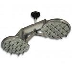 Зубчатый захват «VERIBOR», для напольных плит с ковровым покрытем. арт. BO619.0